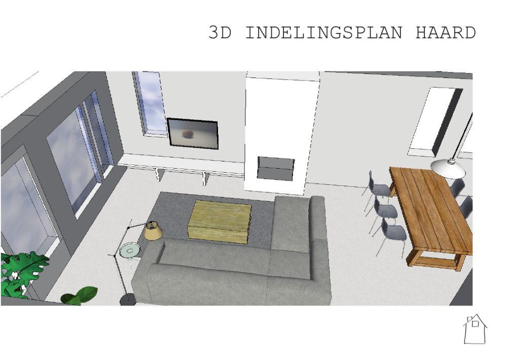 Ontwerp interieur en haard in westmaas for Interieur ontwerp